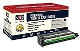 SNP Compatible Toner Cartridge for Dell 3110 3110cn 3115 3115cn, 1Black Dell 3110 3110n, 1BK- Dell 3110 3110n