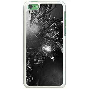 Apple iPhone 5C Cases Customized Gifts Of 3D Graphics Collision 3d D White
