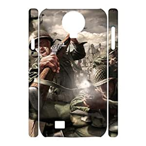 C-EUR Cell phone case Call Of Duty Hard 3D Case For Samsung Galaxy S4 i9500
