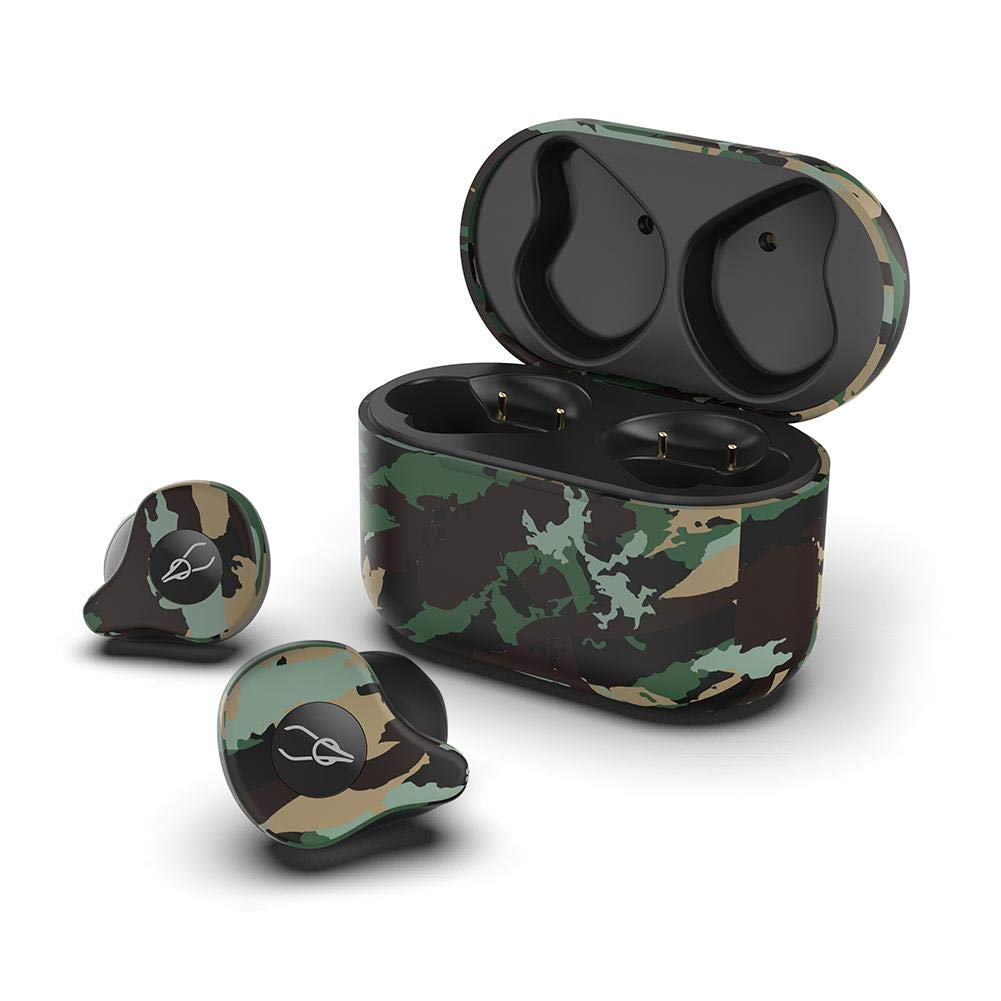 ORANGELD Wireless Bluetooth Headphones - for Sabbat X12 Ultra 5.0 Bluetooth Wireless Headset Earbuds Camouflage Pattern Fashion Leisure with Wireless Charging Box ,Szseven