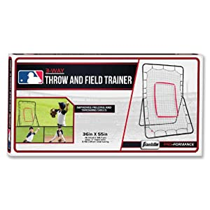 "Franklin Sports 55"" 3-Way Throw and Field Trainer"
