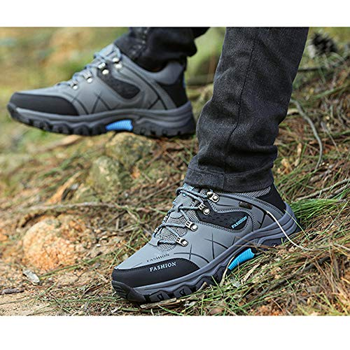 Al Correr Senderismo Para Zapatos Calzado Casuales Deporte Aire Gray Deportivo Rsheng Antideslizantes Libre De Zapatillas BngwEpwq0
