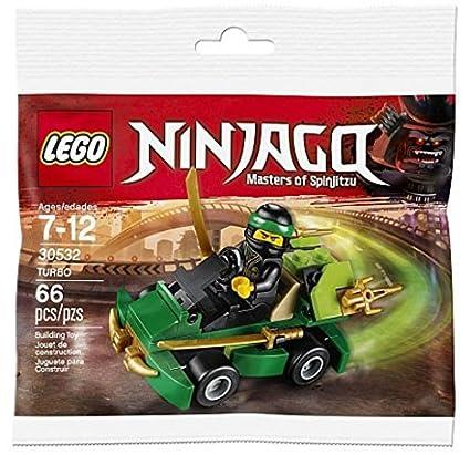 Amazon.com: LEGO 30532 Ninjago Turbo Bolsa de plástico Mini ...