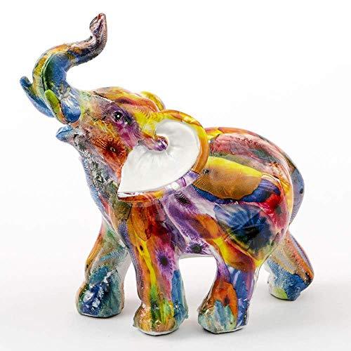 """Gadgets Elephant Tie-Dye Mini 5"""" Elephant Figurine"""