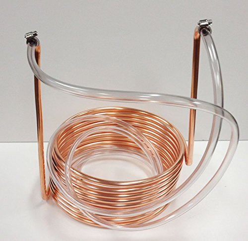 Quick Chill 3/8'' Copper Immersion Coil 25' with Tubing