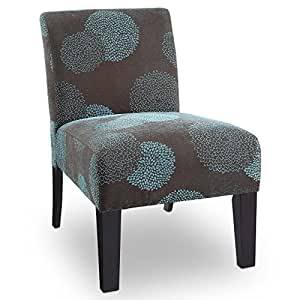 Amazon Com Deco Sunflower Fabric Slipper Chair Color