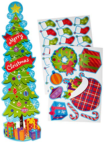 Eureka Christmas and Holiday Season School and Classroom Door Décor Kit, -
