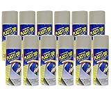 Plasti Dip 12 Pack Multi Purpose Rubber Coating Spray - Aluminum 11oz