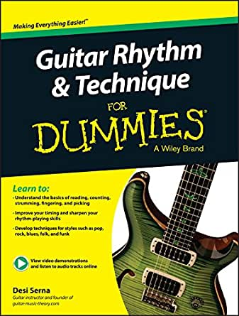 Guitar Rhythm and Technique For Dummies (English Edition) eBook ...
