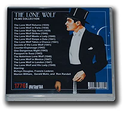 THE LONE WOLF FILM COLLECTION - 15 MOVIES - 8 DVD-R ...