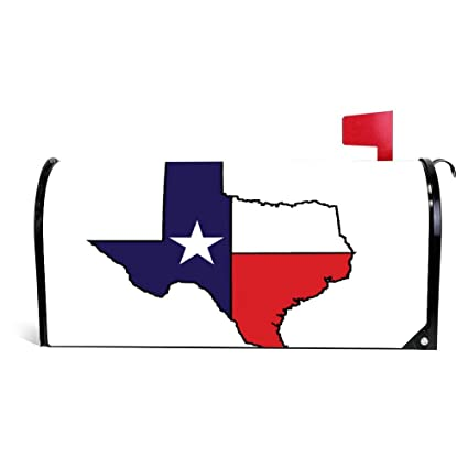 Amazon.com: Us State of Texas Map Magnetic Mailbox Cover ... on