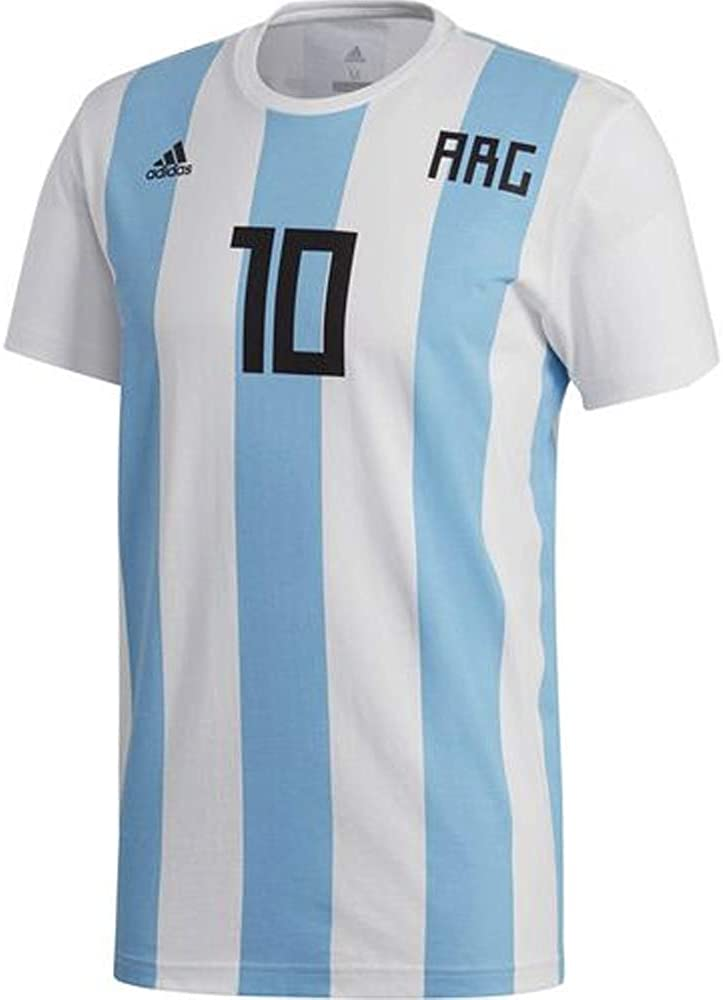adidas Mens Soccer Messi Tee