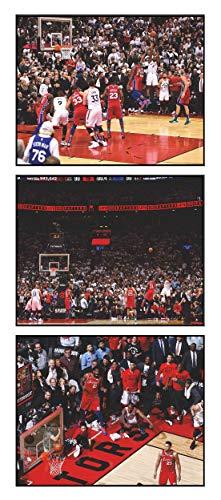 Leonard,K 8x10 Plaque Raptors Game 7 Basket-Set of for sale  Delivered anywhere in Canada