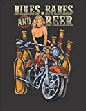 """2020 Motorcycle Calendar and Planner For Bikers: Biker Chick Motorcycle Bikes Babes Beer Sexy Drinking 