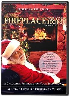 Amazon.com: The Original Christmas Yule Log Fireplace: Steve ...