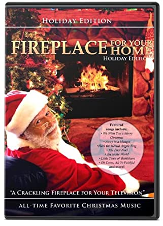fireplace holiday - Fireplace Christmas Decorations Amazon