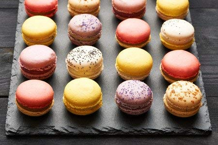 LeilaLove Macarons 21 Gourmet Macarons - Freshly baked to order - Love in Paris box by LeilaLove,Inc (Image #3)
