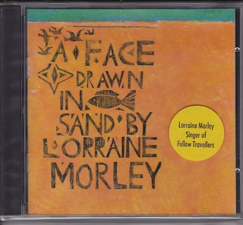 A face drawn in the sand - Morley In Shops