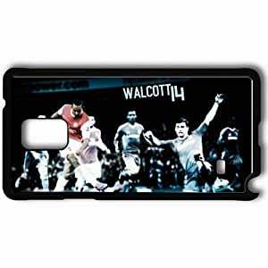 Personalized Samsung Note 4 Cell phone Case/Cover Skin 2013 cool theo walcott Black by mcsharks