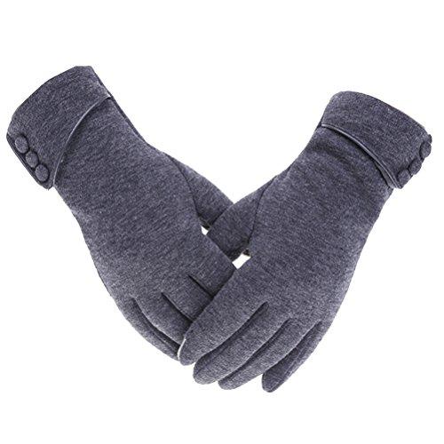 ソート火山のデコラティブLinyuan 安定した品質 Winter Fashion Women Thick Warm Outdoor Cycling Gloves 手袋 Touch Screen Gloves