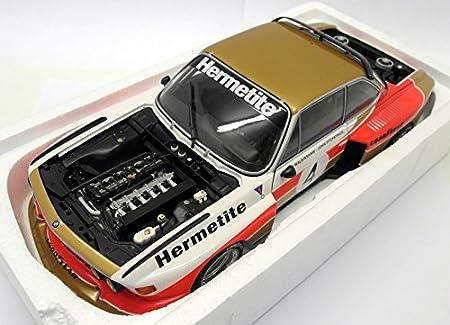Minichamps 180762004 - BMW 3.5 CSL Turbo 1976 GRP. 5 Hermitite equipo, Ganadores de Silverstone 6hrs: Amazon.es: Juguetes y juegos
