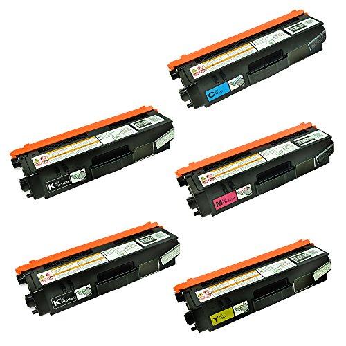 speedy-toner-brother-tn315-laser-toner-replacement-cartridges-set-of-5-cmyk