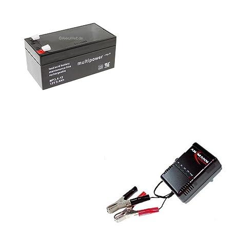 Cargador + Batería de GEL Original Multi Power mp3.4 - 12 ...