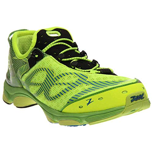 Zoot Men's Ultra Tempo 6.0 Running Shoe,Safety Yellow/Green Flash/Black,10 M US