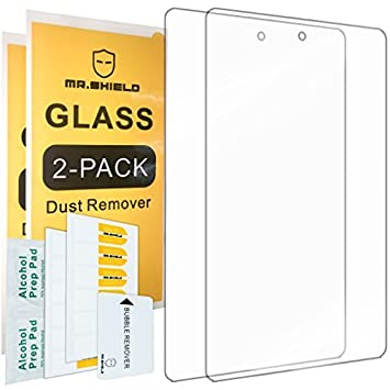 2 Pack Tempered Glass Screen Protector For Amazon Kindle Fire 7 5th Gen 2015
