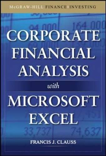Corporate Financial Analysis with Microsoft Excel (McGraw-Hill Finance & Investing)
