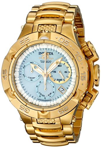 Invicta Women's 17223 Subaqua Analog Display Swiss Quartz Gold Watch