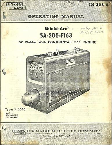 Lincoln Welder Engine Diagram - Wiring Diagrams Dock