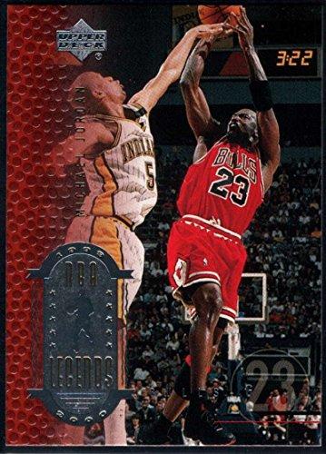 Basketball NBA 1999-00 Upper Deck Legends #1 Michael Jordan NM-MT Bulls (1999 Michael Jordan Upper Deck)