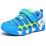 HOBIBEAR Kids Sneakers Casual Running Shoes for Boys&Girls AS3336 (Light Blue, 4M)