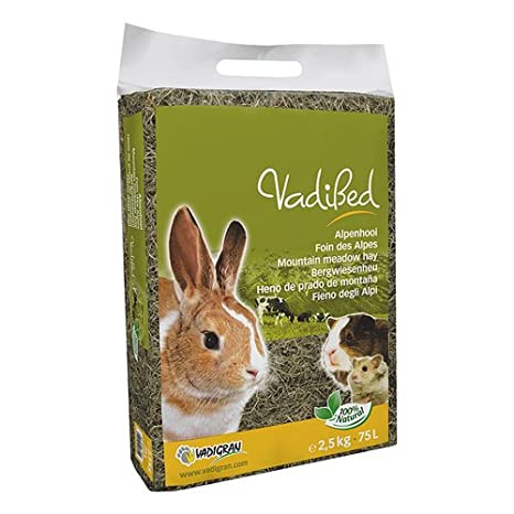 Vadigran Vadibed Foin des Alpes pour Petit Animal 30 L 1 kg 1803