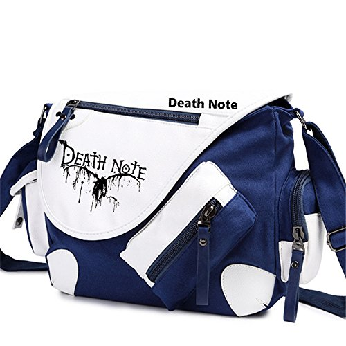 [Siawasey Death Note Anime L Cosplay Handbag Backpack Messenger Bag Shoulder Bag] (L Costume Death Note)