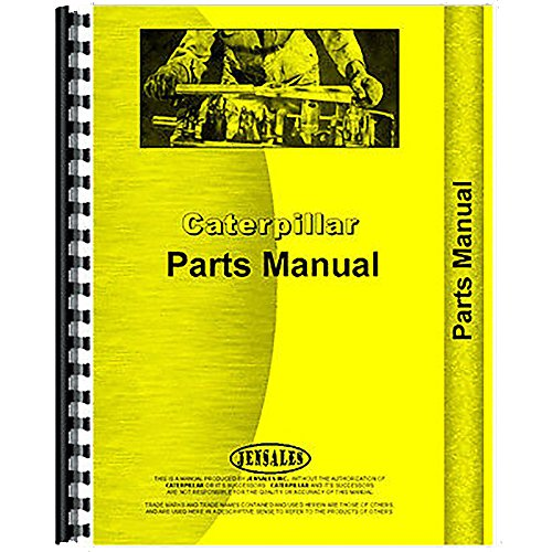 For Caterpillar D6D Tractor Parts Manual (New) (Power Shift) (D6d Tractor)