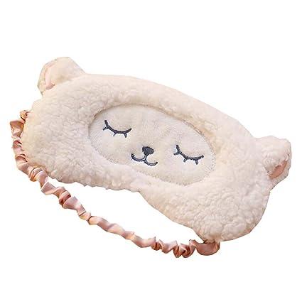3D linda cara ajustable para dormir con los ojos vendados ...