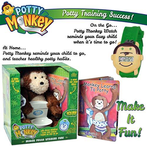 Potty Monkey Plus Potty Monkey Potty Watch for Potty Trainin