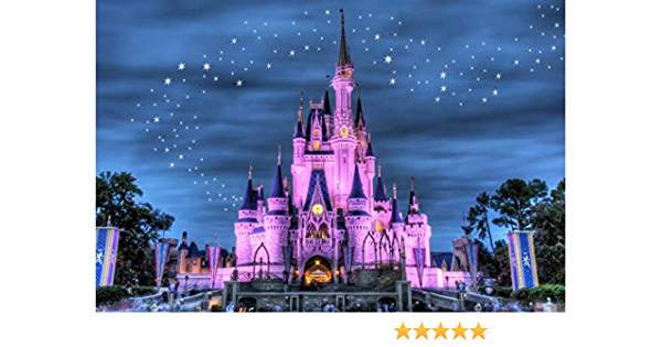 """12/""""x20/""""Disneyland Castle Usa HD Canvas Prints Home Decor Picture Wall Art Poster"""