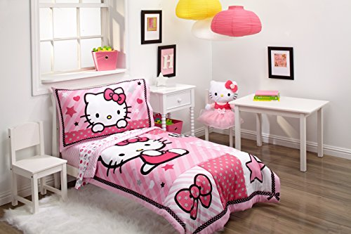 Sanrio Hello Kitty Sweetheart 4 Piece To - Hello Kitty Toddler Bedding Shopping Results