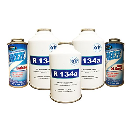 Multi Cans Refrigerant R 134a Charge product image
