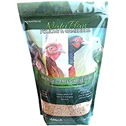 3Lb - NatuPlan Poultry and Gamebirds Antibiotic-Free Supplement - w/ Yucca Extract - Made in USA