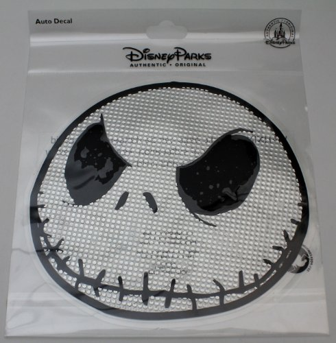 Nightmare Before Christmas Jack Skellington Face Decal - Disney Parks Exclusive Limited Avaliability