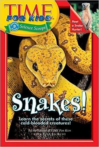 Laden Sie das E-Book für Android herunter Time For Kids: Snakes! (Time for Kids Science Scoops) auf Deutsch PDF DJVU 0060576375