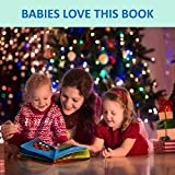 ToBeReadyForLife Cloth Book Baby Soft Books for Newborn Babies, 1 Year Old & Toddler, Educational Toy for Boy & Girl, Touch & Feel Activity, Crinkle Peekaboo, Shower Gift Box