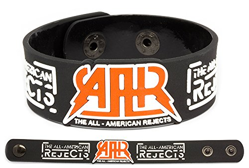All American Wristbands - THE ALL-AMERICAN REJECTS Rubber Bracelet Wristband Kids in the Street Move Along