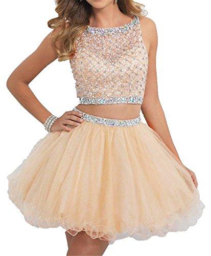 2 Piece Short Dresses Prom: Amazon.com