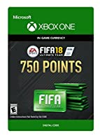 FIFA 18: Ultimate Team FIFA Points 750 - Xbox One [Digital Code]