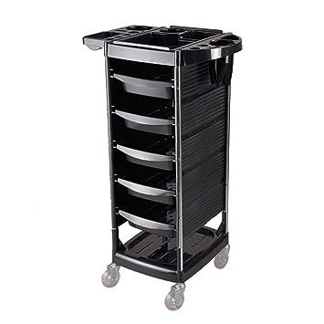 Amazon.com: Trolley Chunlan - Carrito para salón de pelo ...